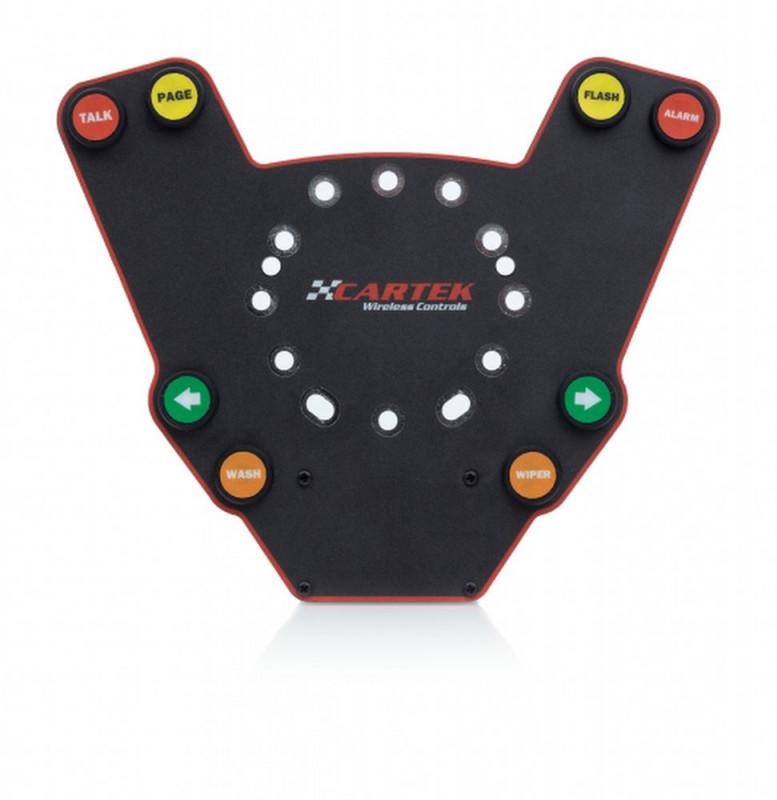 Cartek wireless steering wheel control plate