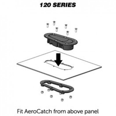 AeroCatch 120 series fitment
