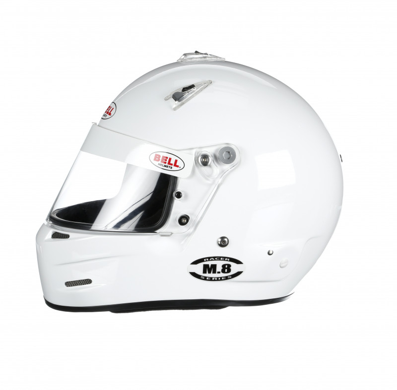 Bell M8 helmet white left