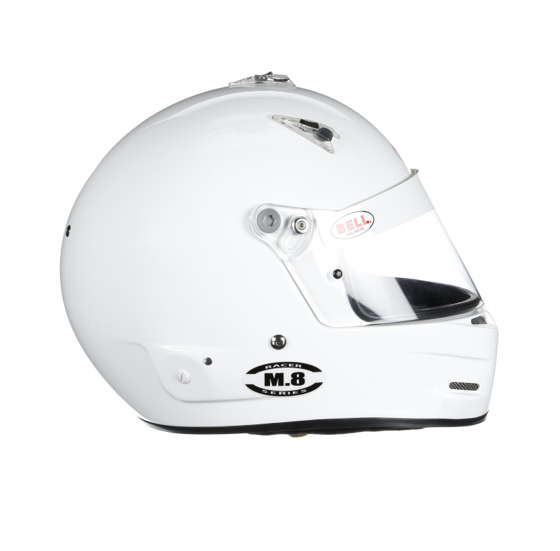 Bell M8 helmet white right