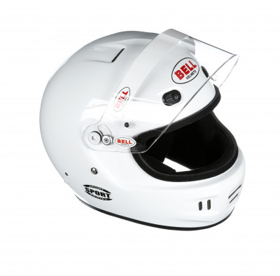 Bell Sport helmet white open right