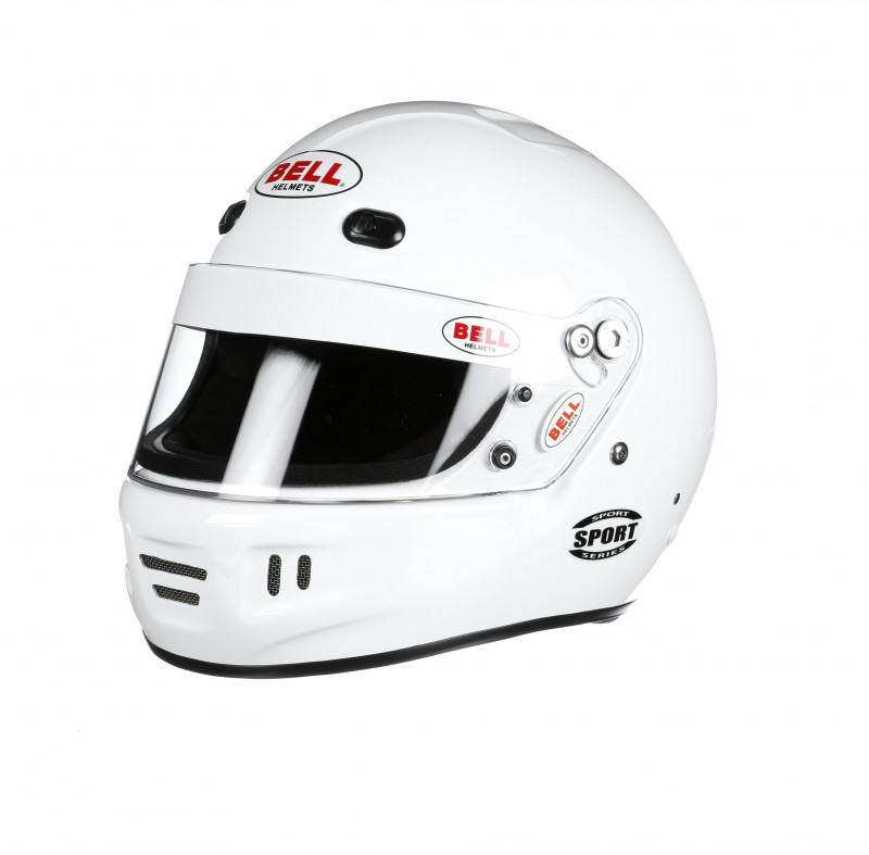 Bell Sport helmet white