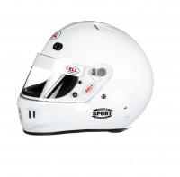 Bell Sport helmet white left
