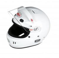 Bell Sport helmet white open left