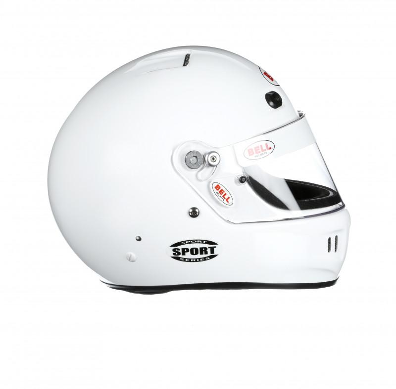 Bell Sport helmet white right
