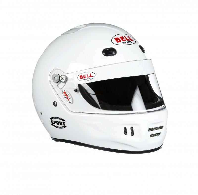 Bell Sport helmet white right front