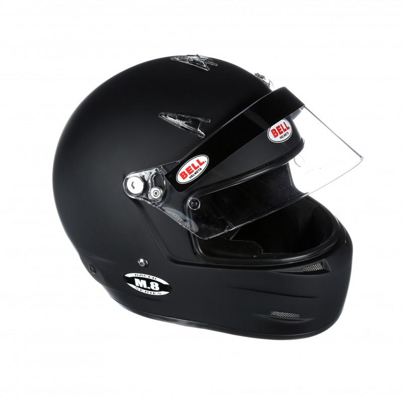Bell M8 helmet black open right