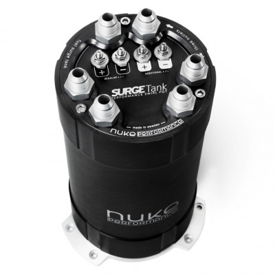 Nuke Performance 2G Fuel Surge Tank 3.0 Liter Up To 3 Internal DW400 Fuel Pumps