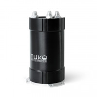 Nuke Performance 2G fuel surge tank 3.0 liter 3 pumps side