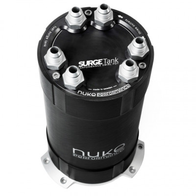 Nuke Performance 2G Fuel Surge Tank 3.0 Liter Up To 3 External Fuel Pumps