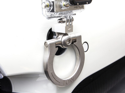 Rennline GoPro tow hook camera mount