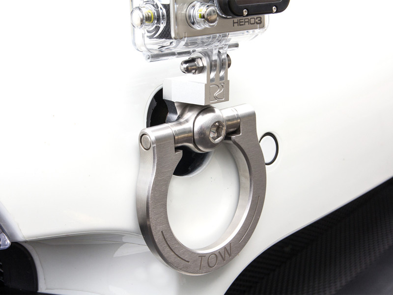 Rennline GoPro tow hook camera mount