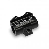 Inline fuel pressure gauge adapter
