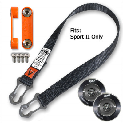 HANS Sport II tether upgrade kit