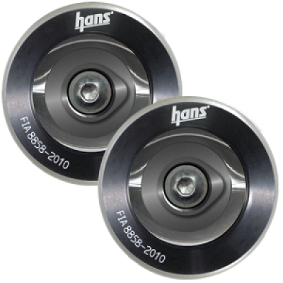 HANS Professional Post Clip Anchor Helmet Attachment