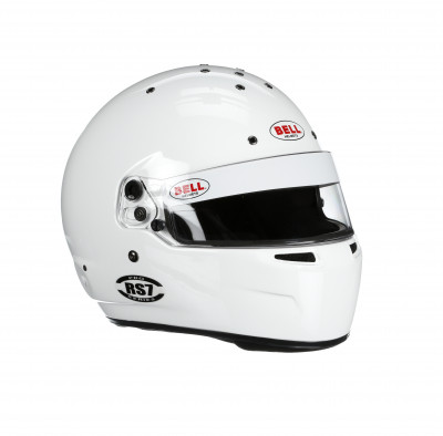 Bell RS7 racing helmet