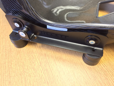Tillett EB2 B5 brackets mounted