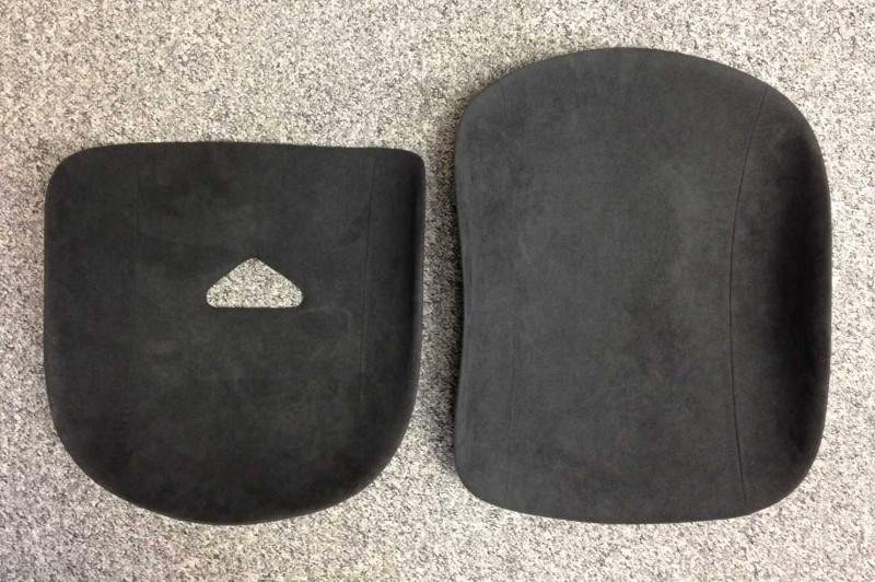 B4 seat pads set