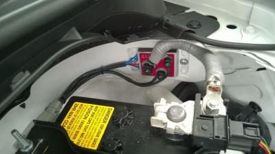 Cartek GT battery isolator installed