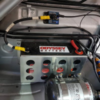 Cartek XR battery isolator installed