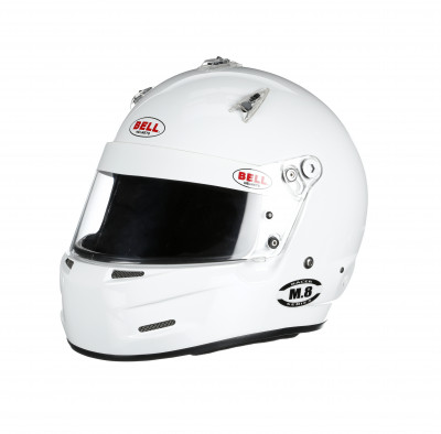 Bell M8 helmet white