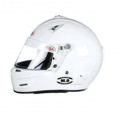 Bell M8 helmet white left
