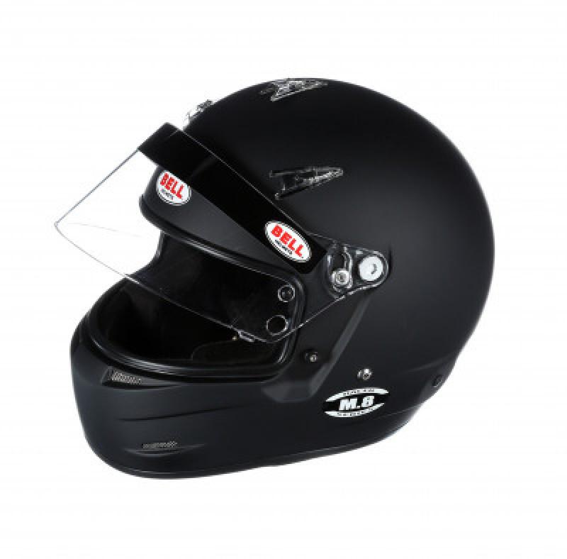Bell M8 helmet black open