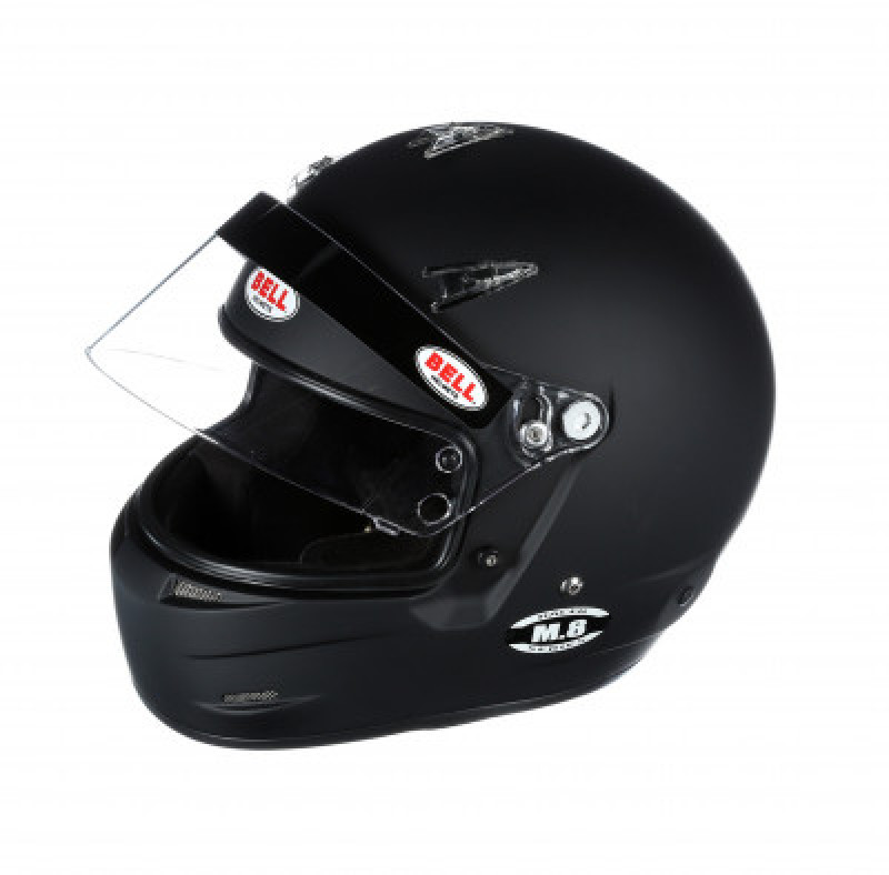 Bell M8 helmet black open