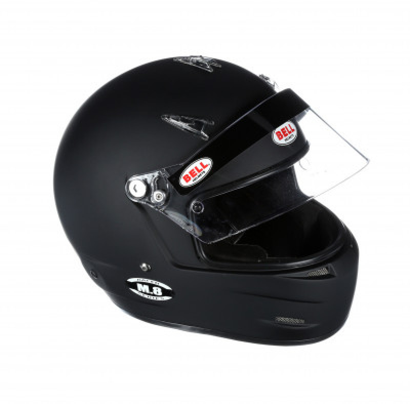 Bell M8 helmet black open right