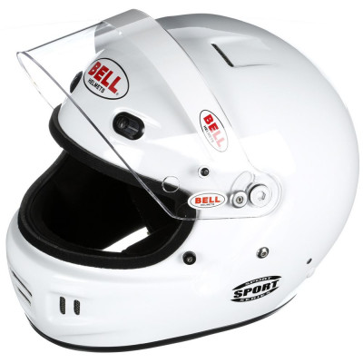 White Raised Visor