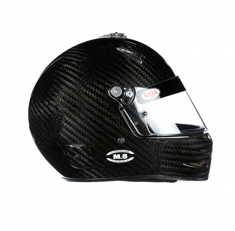 Bell M8 Carbon side