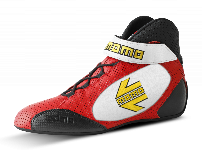 MOMO Red/white GT Pro Racing Shoe