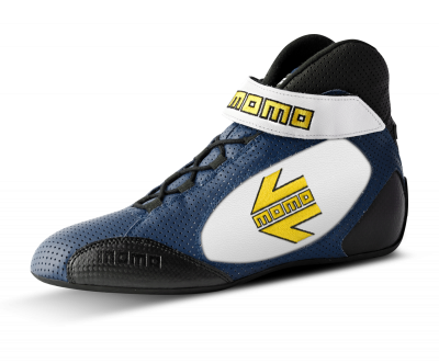 MOMO blue/white GT Pro racing Shoe