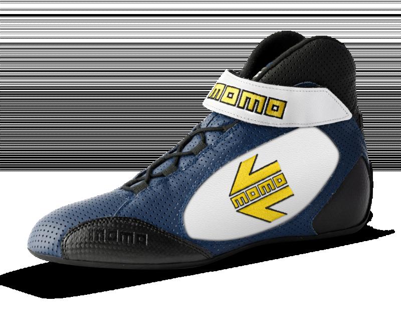 MOMO blue/white GT Pro racing Shoe