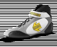 MOMO Gray/white GT Pro Racing Shoe