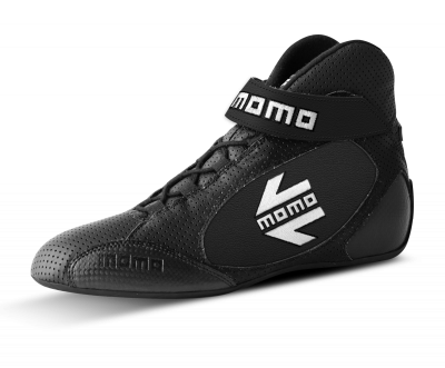 MOMO Black GT Pro Racing Shoe