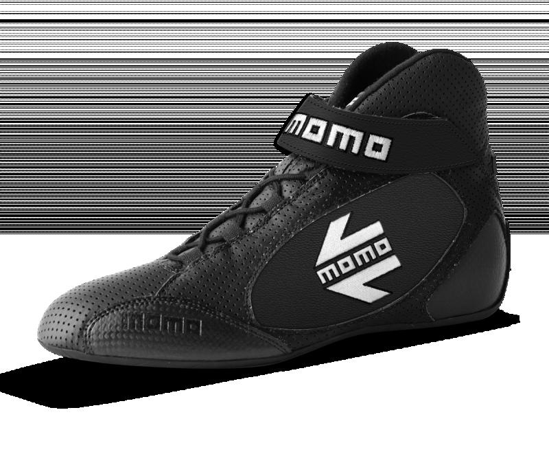 MOMO Black GT Pro Racing Shoe