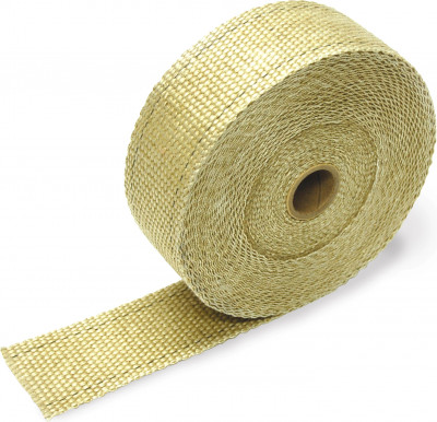 "Design Engineering Tan Exhaust Manifold Wrap 1"" x 50'"
