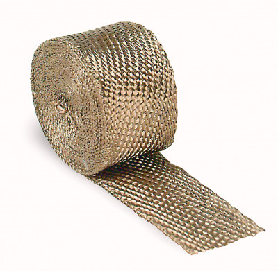 "Design Engineering Titanium Exhaust Manifold Wrap 2"" x 33'"