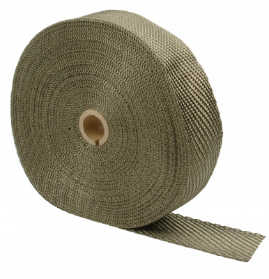 "Design Engineering Titanium Exhaust Manifold Wrap 4"" x 100'"