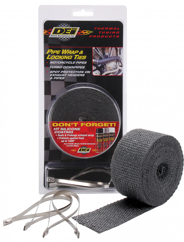 Design Engineering Black Pipe Wrap Kit