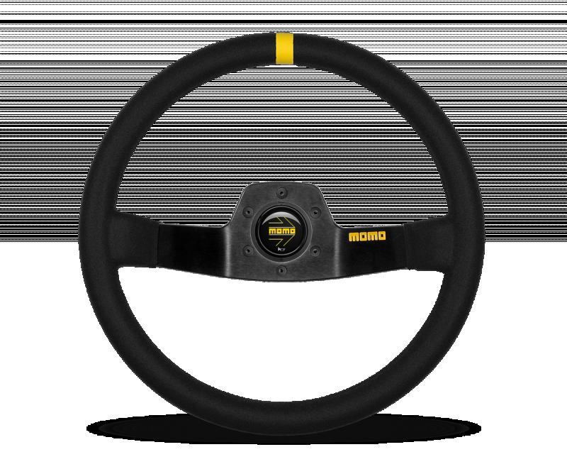 MOMO MOD. 02 suede steering wheel