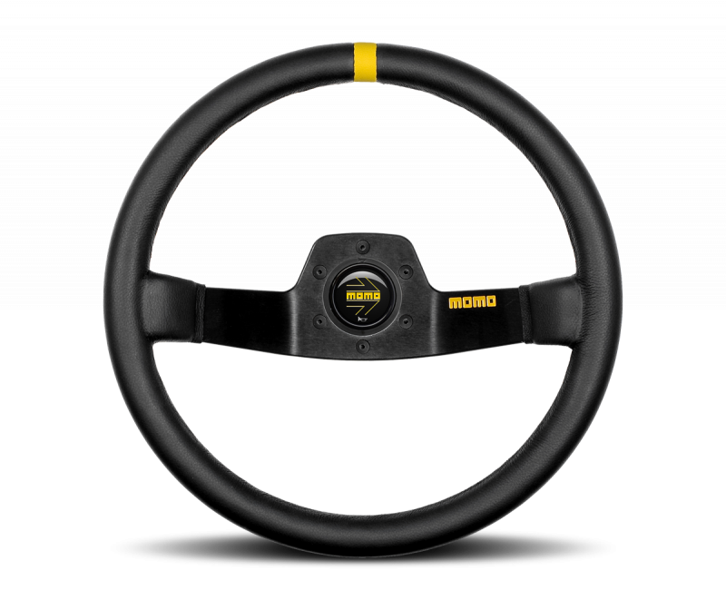 MOMO MOD. 02 leather steering wheel