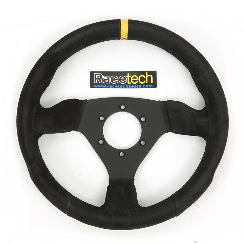 Racetech Flat Suede Steering wheel