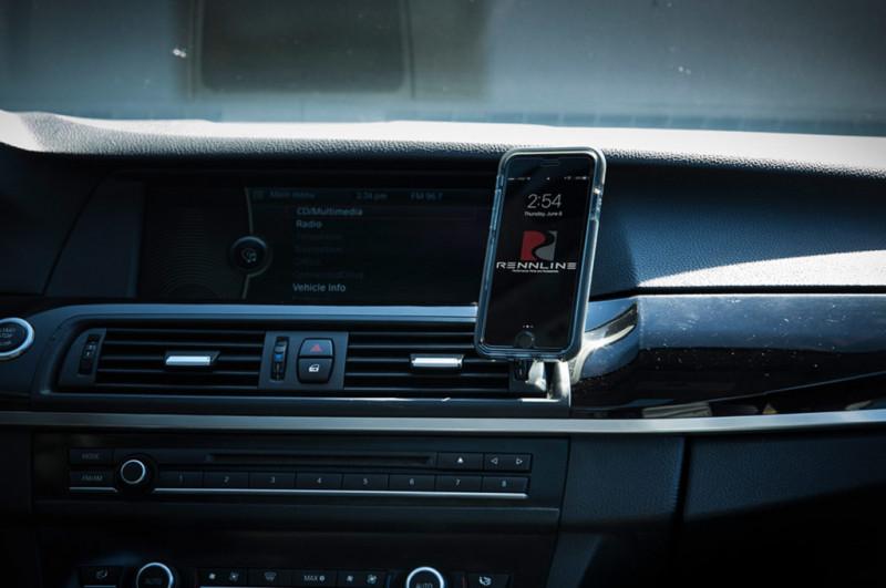 Rennline ExactFit Screw-in Magnetic Phone Mount BMW