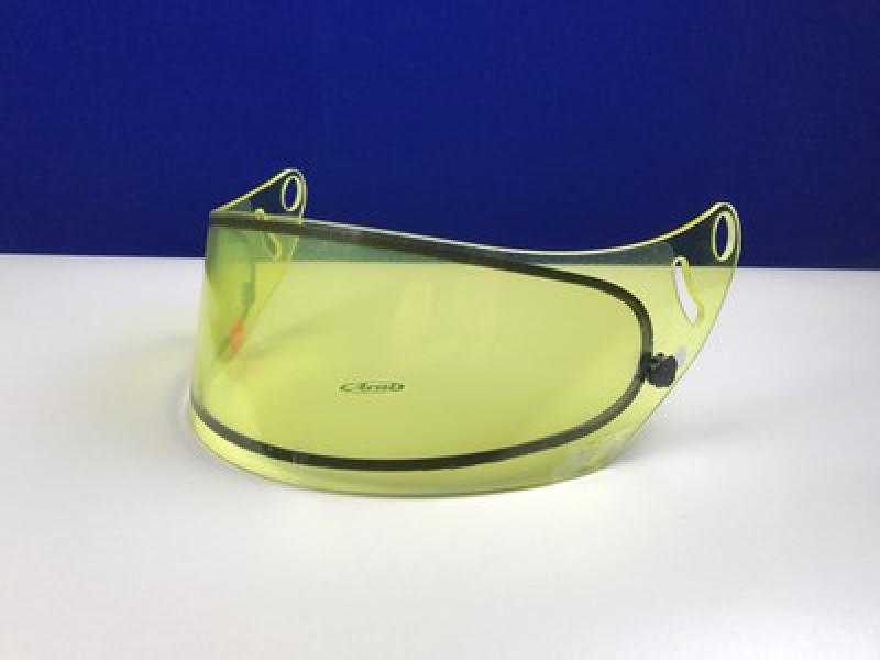 Arai GP-6 D-Pane Shield Yellow