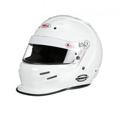 Bell Dominator2 Racing Helmet White