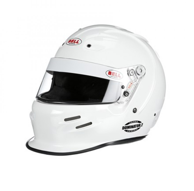Bell Dominator2 Racing Helmet White