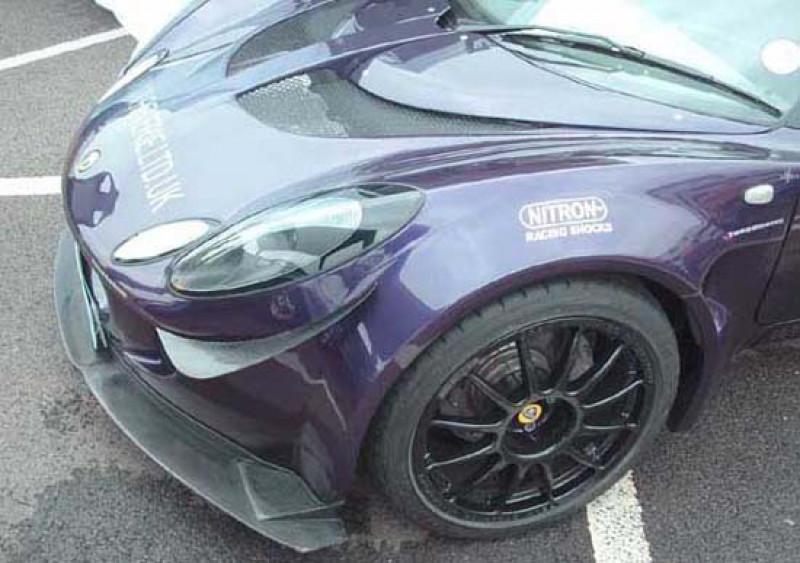 Reverie Lotus Elise/Exige S2 Carbon Fibre Front Canards - Pair, Pre-2010