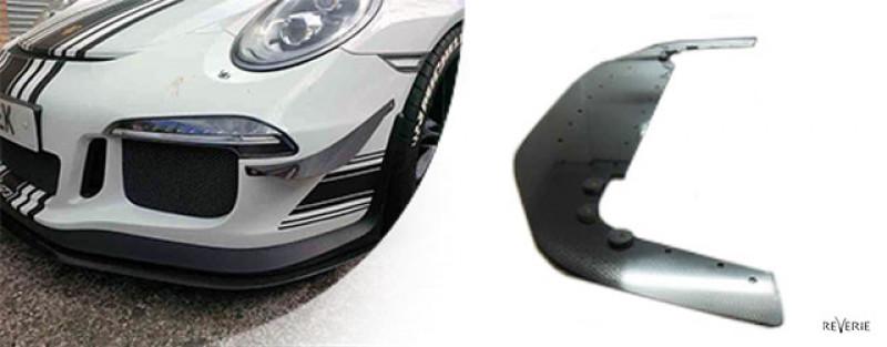 Reverie Carbon/Foam Short Front Splitter/Spoiler for Porsche 911 GT3 (991.1) (13 - 17 )